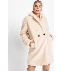 lange imitatie lammy coat