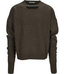 ambush cut-out sweater