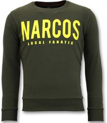 sweater local fanatic sweater - narcos trui -