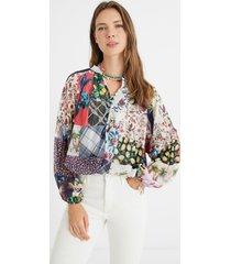 blouse - white - xl