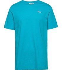men unwind tee t-shirts short-sleeved blå fila
