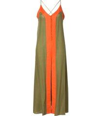 regatão rosa chá noronha military green beachwear verde feminino (capulet olive, gg)