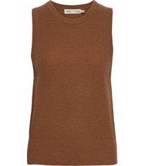 siljaiw waistcoat knitwear vests-indoor beige inwear