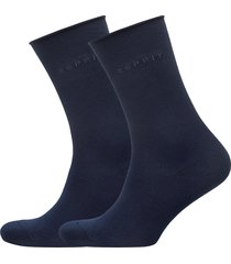 basic p. so 2p lingerie socks regular socks blå esprit socks