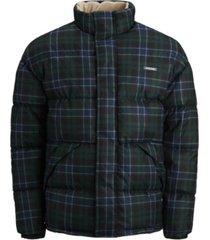 jack & jones men's high neck padded puffer jacket