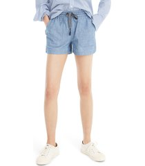 women's j.crew point sur seaside chambray shorts