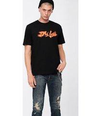 camiseta diesel t-just xk preta