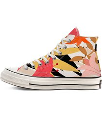 women's vintage floral chuck 70 high top