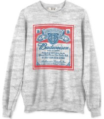 junk food cotton budweiser graphic sweatshirt