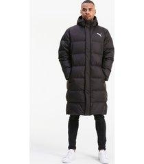 long oversized donsjas voor heren, zwart/aucun, maat xs | puma