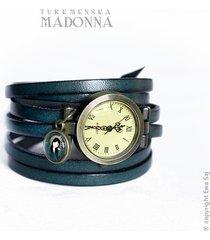 madonna turkmeńska - bransoletka zegarek