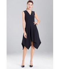 bistretch sleeveless dress, women's, black, size 0, josie natori