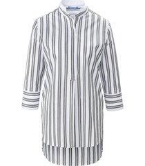 blouse 100% katoen 3/4-mouwen van day.like wit