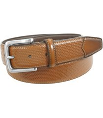 florsheim marshall woven dress leather belt