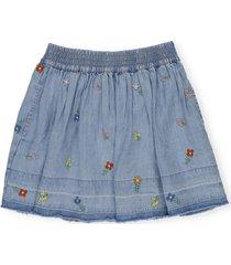stella mccartney tiny flowers skirt