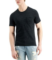sun + stone men's dylan contrast chain stitch t-shirt, created for macy's