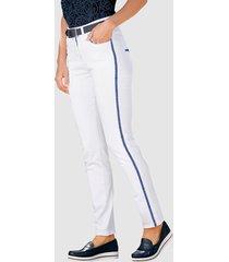 7/8-jeans paola wit::marine