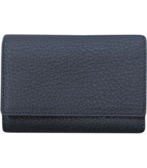 buxton women's medium size leather wallet
