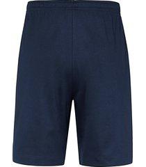 korte pyjamabroek van mey blauw