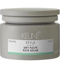 finalizador keune style dry paste - pasta modeladora travel size 75ml