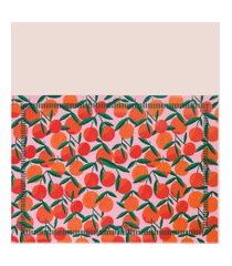 amaro feminino easy home design kit jogo americano, laranja