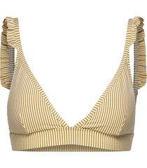 vintage prairie triangle top bikinitrosa gul sunseeker