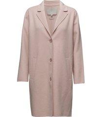 carmeo coat wollen jack jack roze inwear