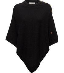 pomerol poncho poncho regnkläder svart busnel