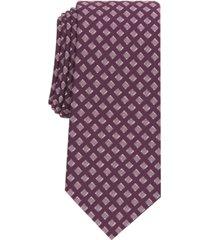 alfani men's hill geometric necktie, created for macy's