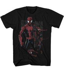 camiseta super heroe spider man multi webs marvel original tallas pequeñas