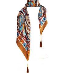 pañuelo lana calabazas beige viva felicia