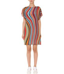 ps by paul smith dress with striped pattern