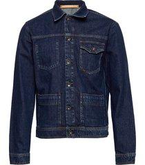 myth jeansjack denimjack blauw tiger of sweden jeans