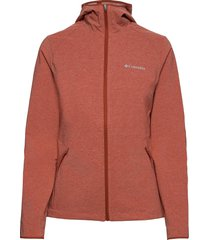 heather canyon™ softshell jacket outerwear sport jackets orange columbia