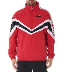 jacket 1/2 zip mvb - red capital 175280-45005