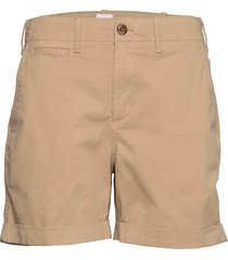 5 high rise khaki shorts shorts flowy shorts/casual shorts beige gap