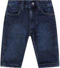 hugo boss blue jeans for babyboy with logo