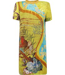 dsquared2 all-over printed dress