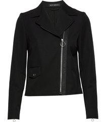 blazer jacket short 1/1 sleeve blazer kavaj svart betty barclay