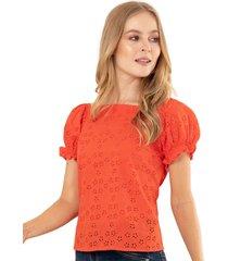 blusa cadiz rojo ragged pf11112145