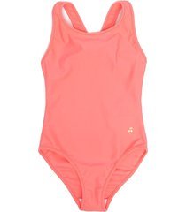 bonpoint bow detail swimsuit - pink