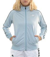 chaqueta mujer 222 banda wanniston slim kappa azul