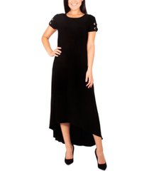 ny collection petite grommet high-low maxi dress