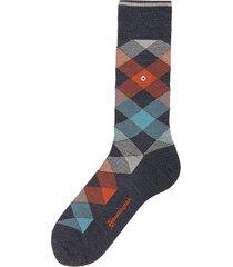 burlington blue marl newcastle socks 21123-6688