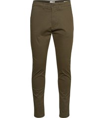 6208601, pants - sdjim casual byxor vardsgsbyxor brun solid