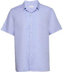 riccerde2 overhemd met korte mouwen blauw tiger of sweden
