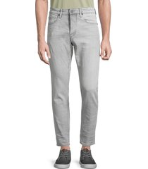 g-star raw men's 3301 straight tapered-fit jeans - sun faded wash - size 30 32
