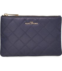 marc jacobs diamond quilted make-up bag - black