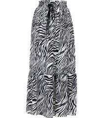 fluid long skirt