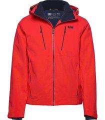 alpha 3.0 jacket outerwear sport jackets röd helly hansen
